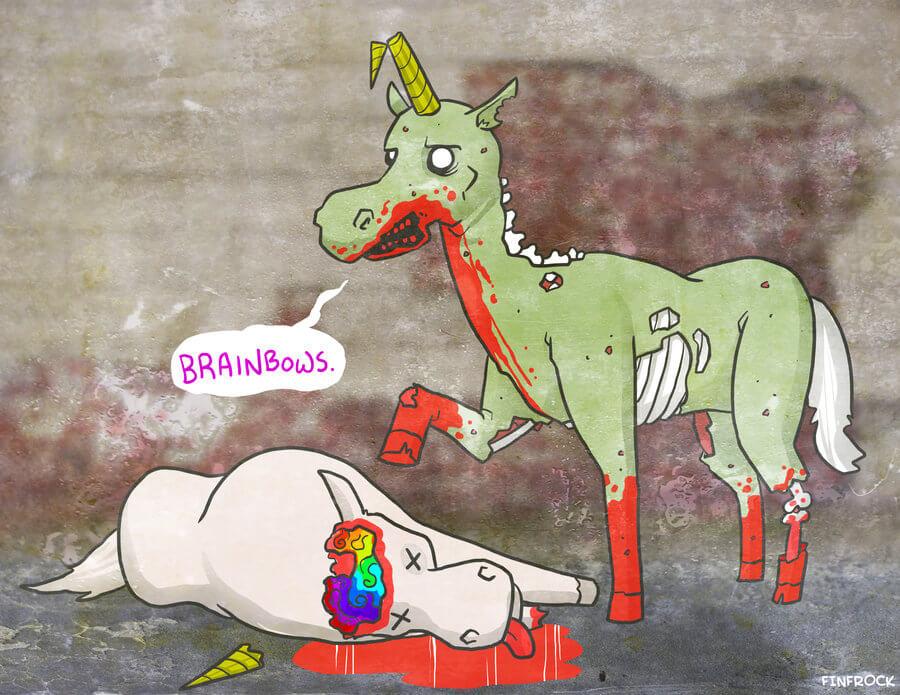 zombie_unicorn_by_splashed_ink-d4fnzfg